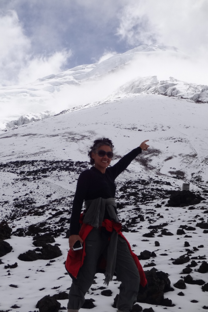 Eu também sou montanha andeira Cotopaxi Equador