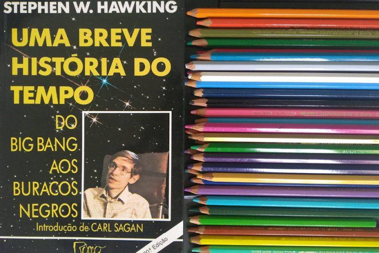 Uma breve história do meu tempo com Stephen W. Hawking