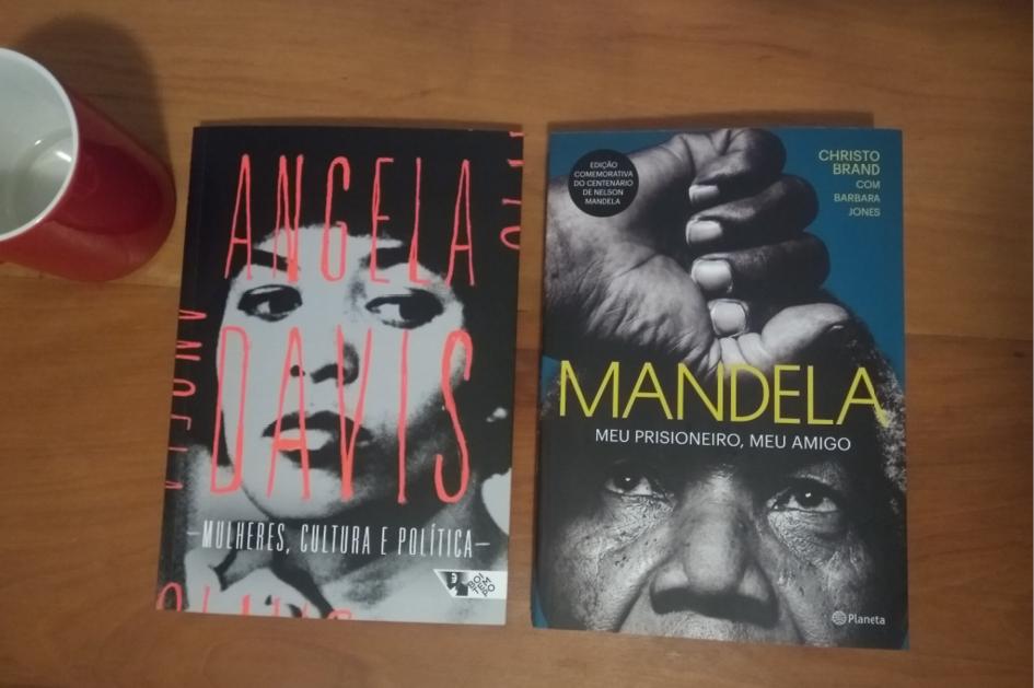 Angela Davis e Mandela