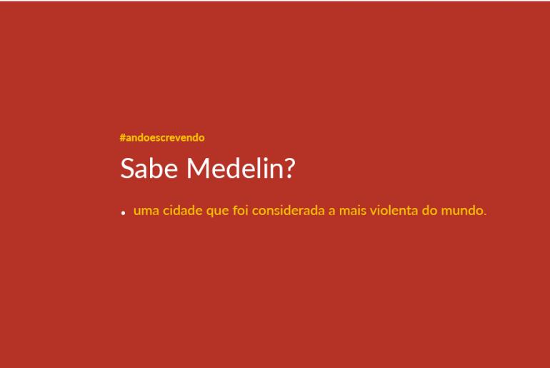 Texto sobre como Medelin usou a cultura para diminuir a violencia