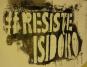 Logo do movimento Resiste Izidora MG. Resistência popular